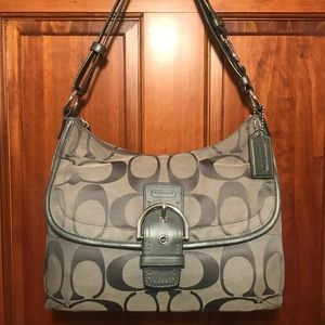 Coach Single strap front buckle bag